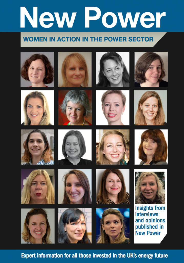 Women in the power sector cover